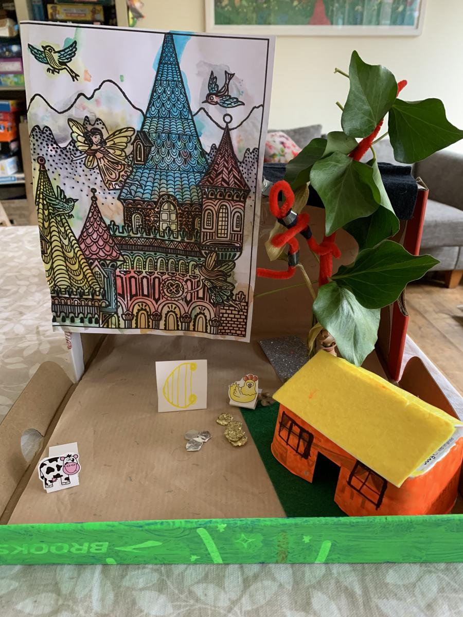 Jack and the Beanstalk by Lucy