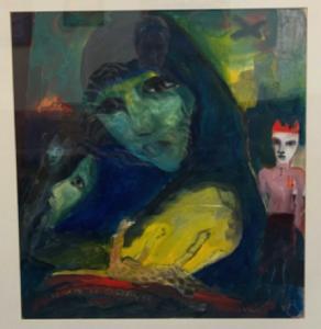 Large Framed artwork